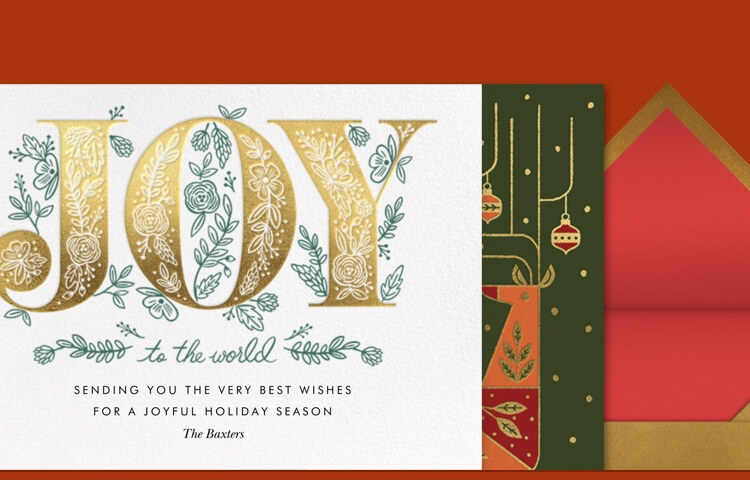 Best Christmas Cards.Christmas Cards Online At Paperless Post