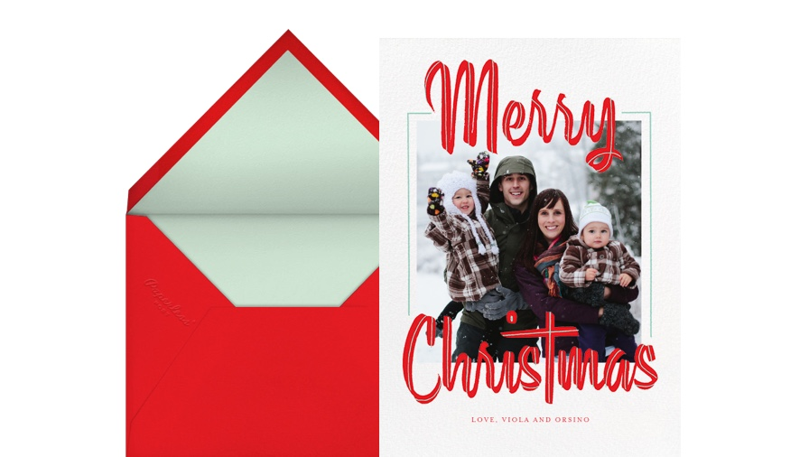 Digital Christmas Cards.Christmas Cards Online At Paperless Post
